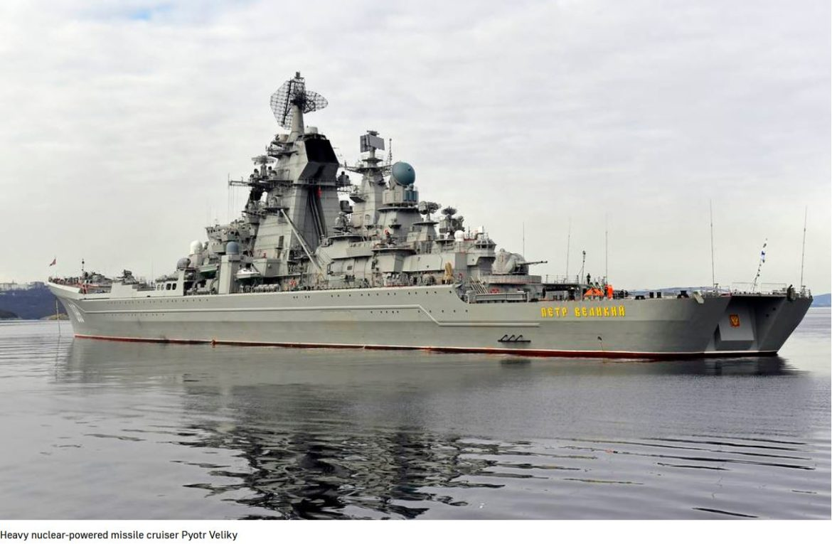 Russian Navy heavy missile cruiser kicks off drills in Barents Sea