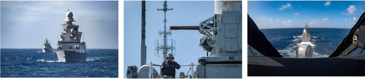 NATO Standing Naval Forces Participate in exercise Steadfast Defender 21 with UK Queen Elizabeth Carrier Strike Group