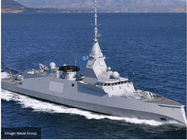 Naval Group submits offer Hellenic Navy frigate requirement