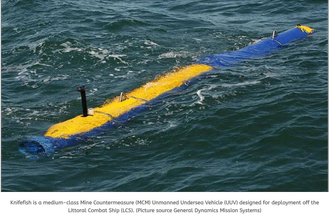 General Dynamics to retrofit Surface Mine Countermeasure Unmanned Undersea Vehicles to Block I configuration