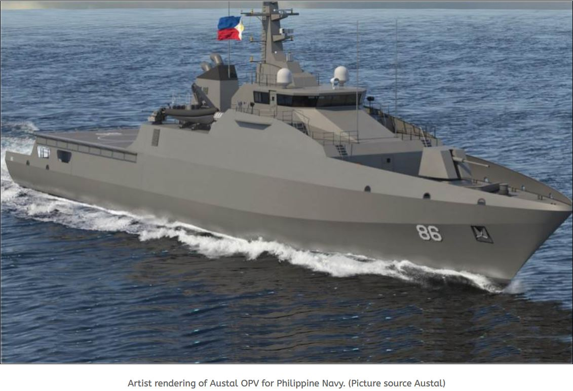 Philippine Navy confirms acquisition of six new OPV Offshore Patrol Vessels