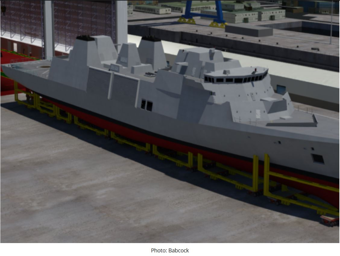 Type 31 frigate programme completes whole ship critical design review