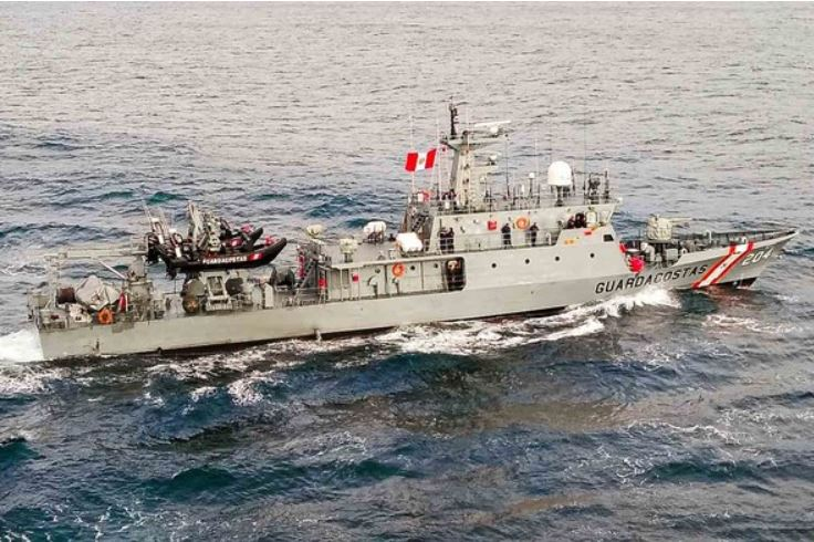 """National Maritime Authority carries out search actions for the crew of the fishing vessel """"Marisa"""""""