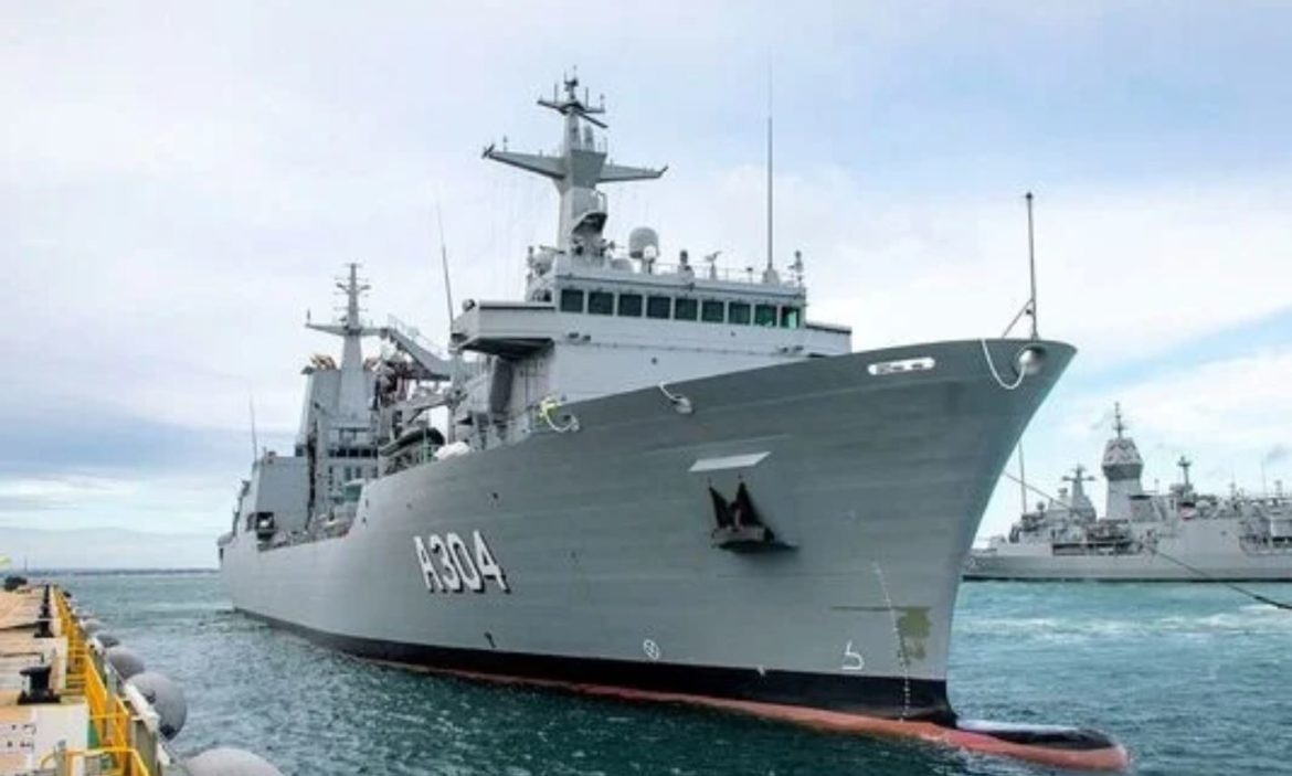 Second Supply-class AOR vessel for RAN arrives in Australia