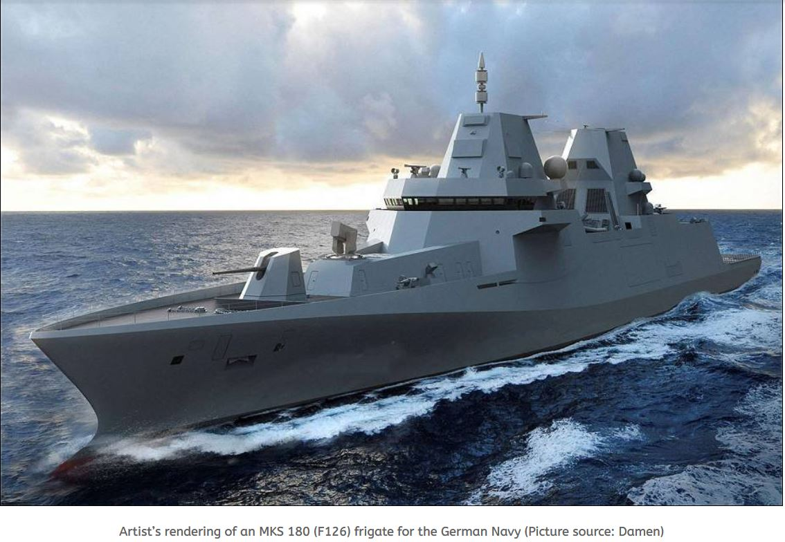 DNV wins contract to certificate F126 frigates for Damen