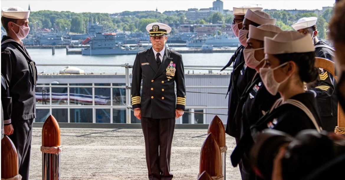 Standing NATO Mine Countermeasures Group 1 Changes Leadership