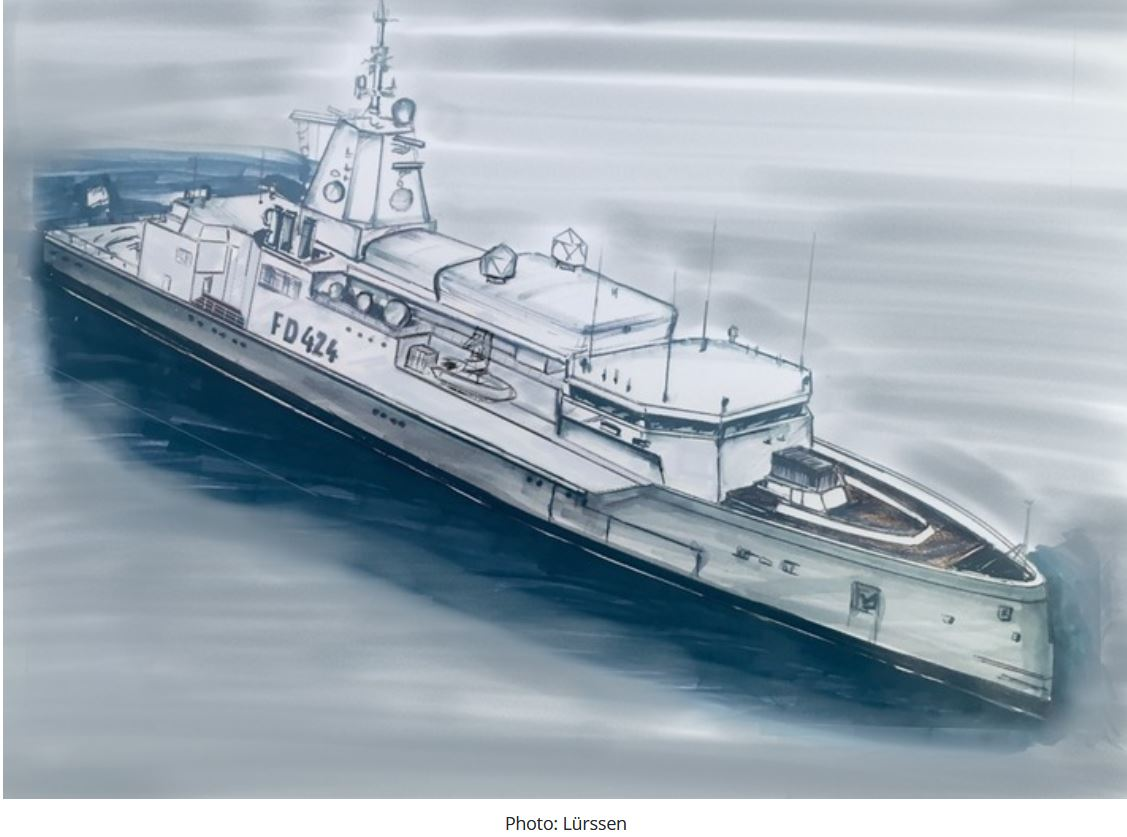 German Navy gets funding for new vessels