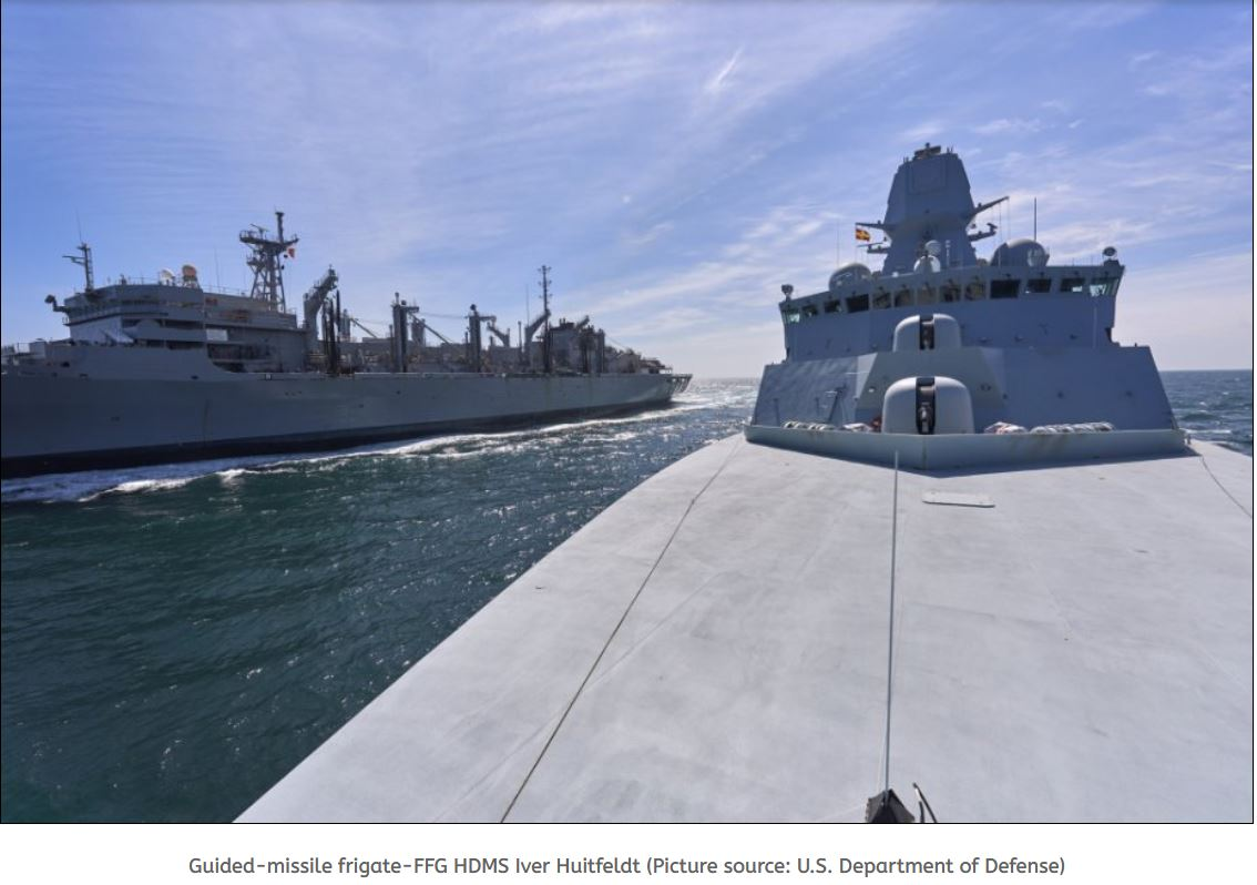 Royal Danish Navy participates in exercise At Sea-Demo