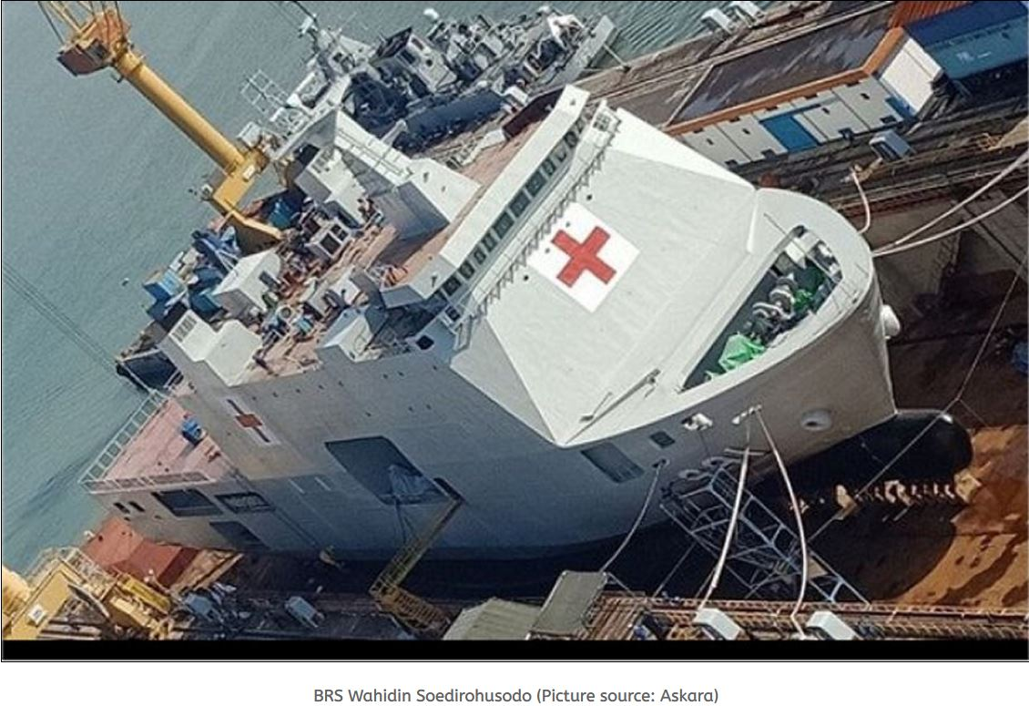 Terma radar will equip the Indonesian Navy Hospital Assistance ship
