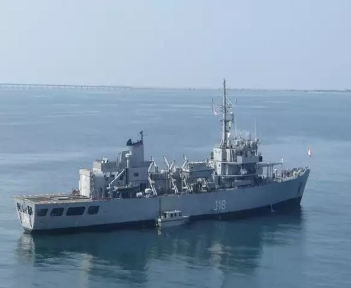 Indian Navy's oldest Hydrographic Survey Ship 'INS Sandhayak' decommissioned