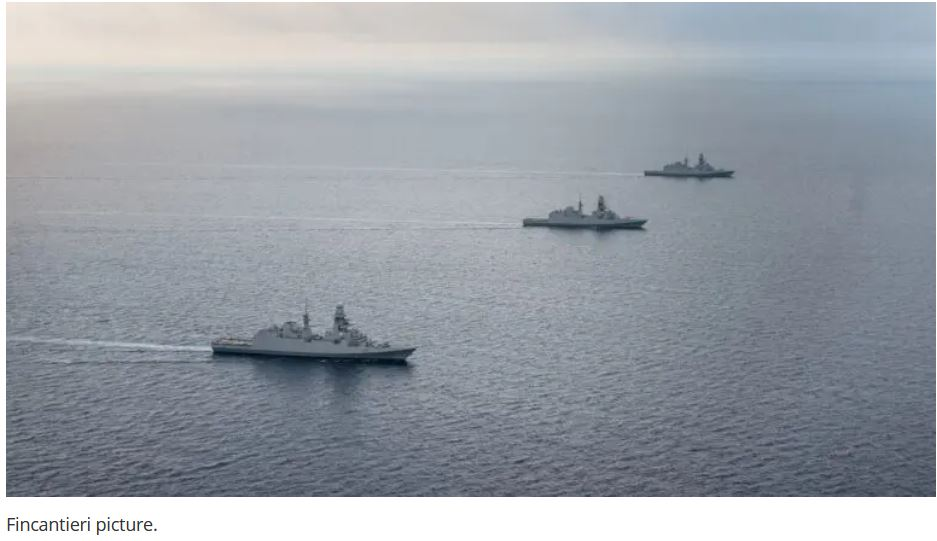 Fincantieri Signed A Contract To Provide 8 Frigates To Indonesia