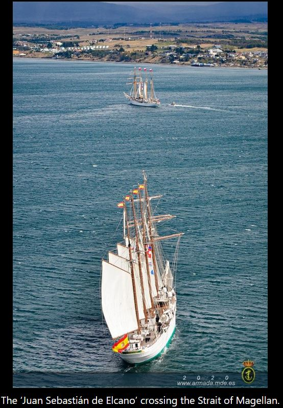 The 'Juan Sebastián de Elcano' will arrive at Cadiz on June 13th, thus wrapping up her 93rd Training Cruise and her 11th voyage around the globe.