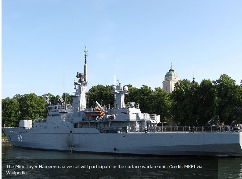 Finnish Navy to participate in BALTOPS maritime exercise