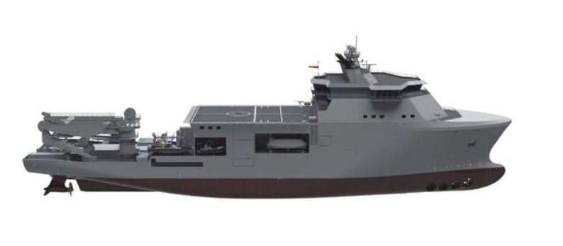Mariotti shipyard selected for Italy's new submarine rescue, dive support vessel