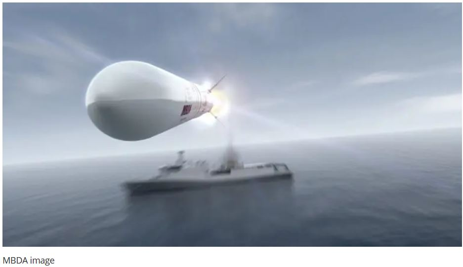 MBDA's Received New Sea Ceptor Order For The Brazilian Navy