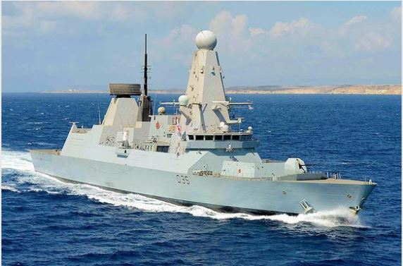 MBDA'S CAMMS WILL STRENGTHEN THE AIR DEFENSE CAPABILITIES OF THE ROYAL NAVY'S TYPE 45 DESTROYERS