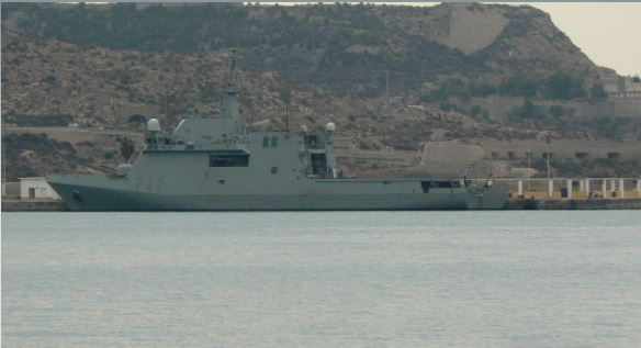 Russian Navy keeping close watch on Spanish warship in Black Sea