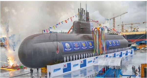 South Korea conducts SLBM test from underwater barge