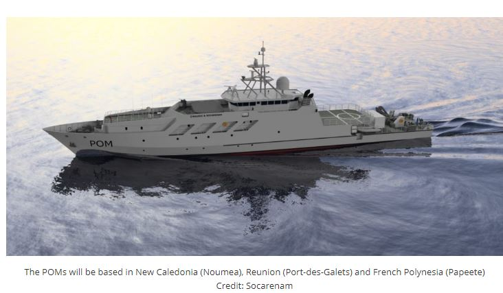 HENSOLDT UK Supplies Surface Radars With IFF To The French Navy's Future POM OPVs