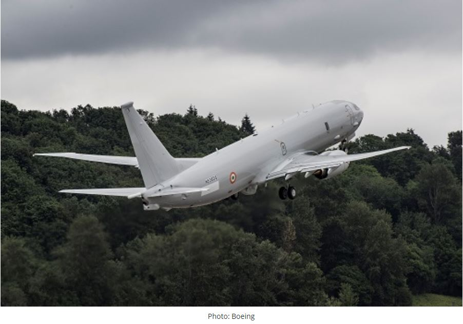 Indian Navy takes delivery of 10th P-8I aircraft