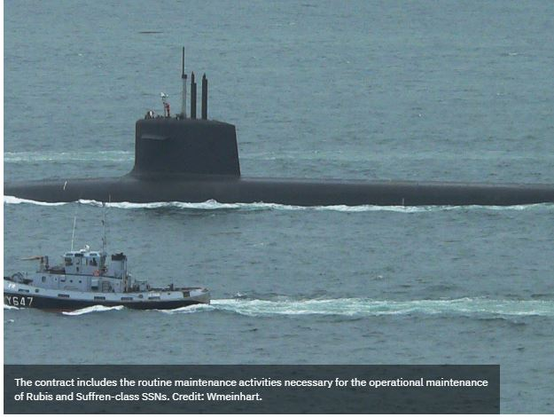 Naval Group to maintain French Navy's nuclear attack submarines