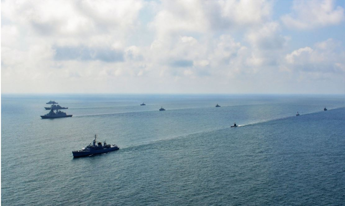 NATO SHIPS EXERCISED IN EXERCISE BREEZE IN THE BLACK SEA