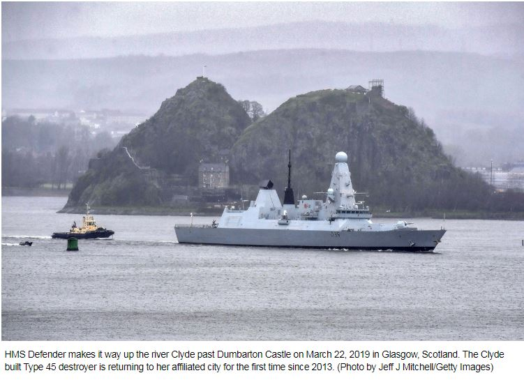 Most of the Royal Navy's destroyers are unavailable for deployment