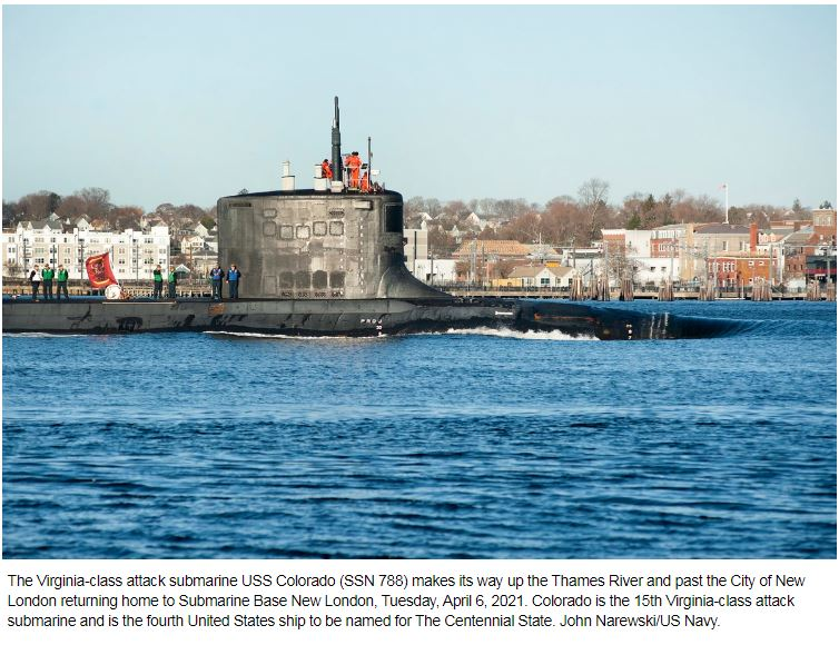 Submarine leaders want to tap into JADC2 network without giving away their position