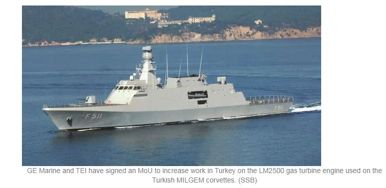GE Marine looks to boost collaboration with Turkey