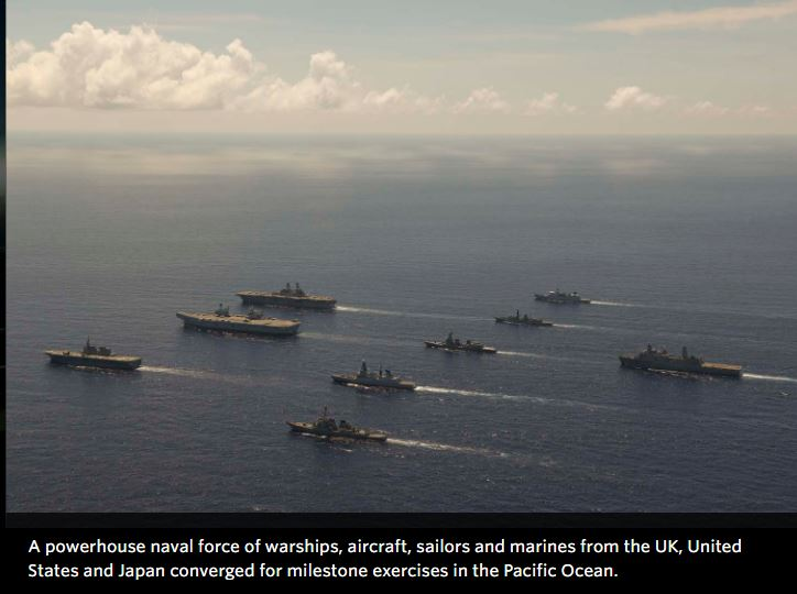 UK, Netherlands, United States and Japan complete intensive joint exercises in the Pacific