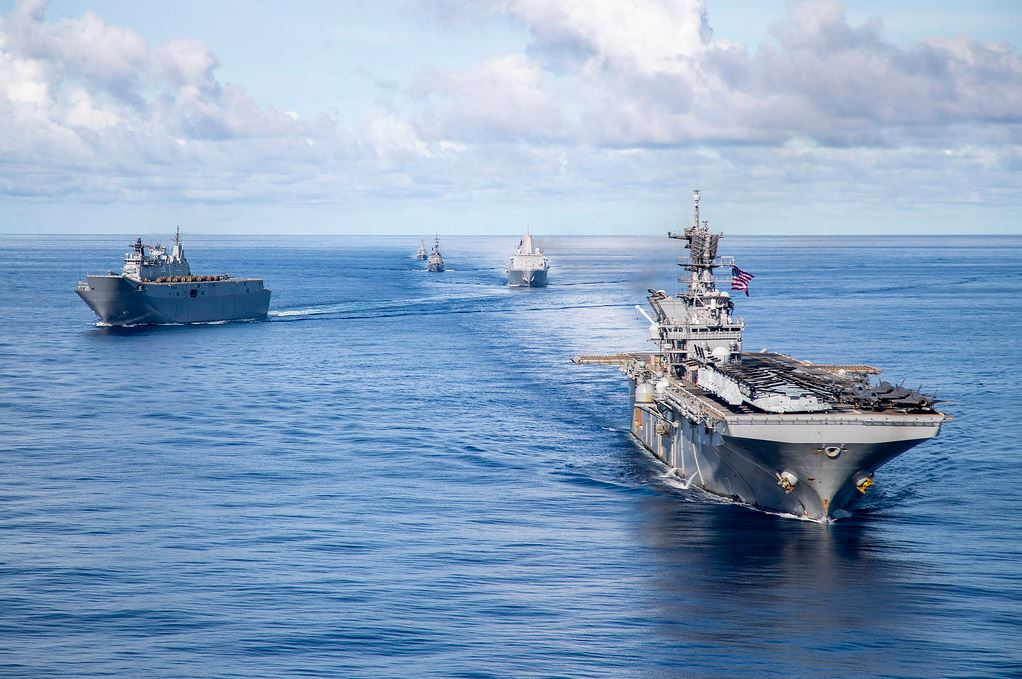 US, Australia and Japan in Combined and Joint Battle Problem