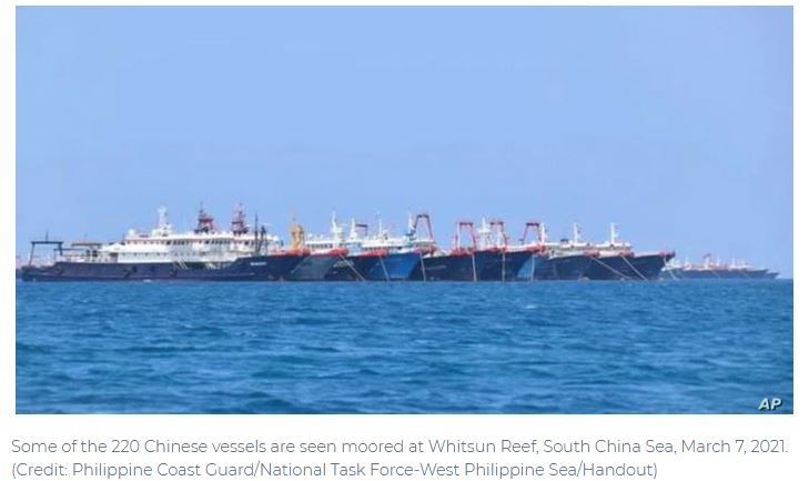 China's Likely Responses to European and Indian Warships in Sea it Calls its Own