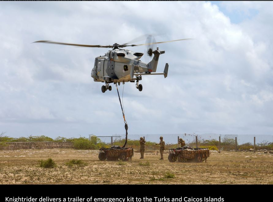 Navy's Caribbean task force masters disaster in three-day workout with Turks and Caicos troops