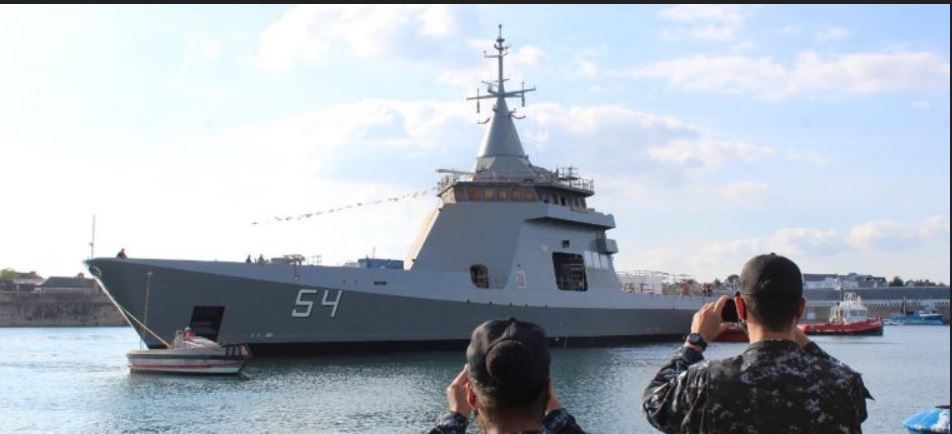 Naval Group floats out final OPV built for Argentine Navy