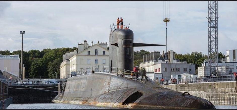 Naval Group starts deconstruction of retired French nuclear-powered submarine