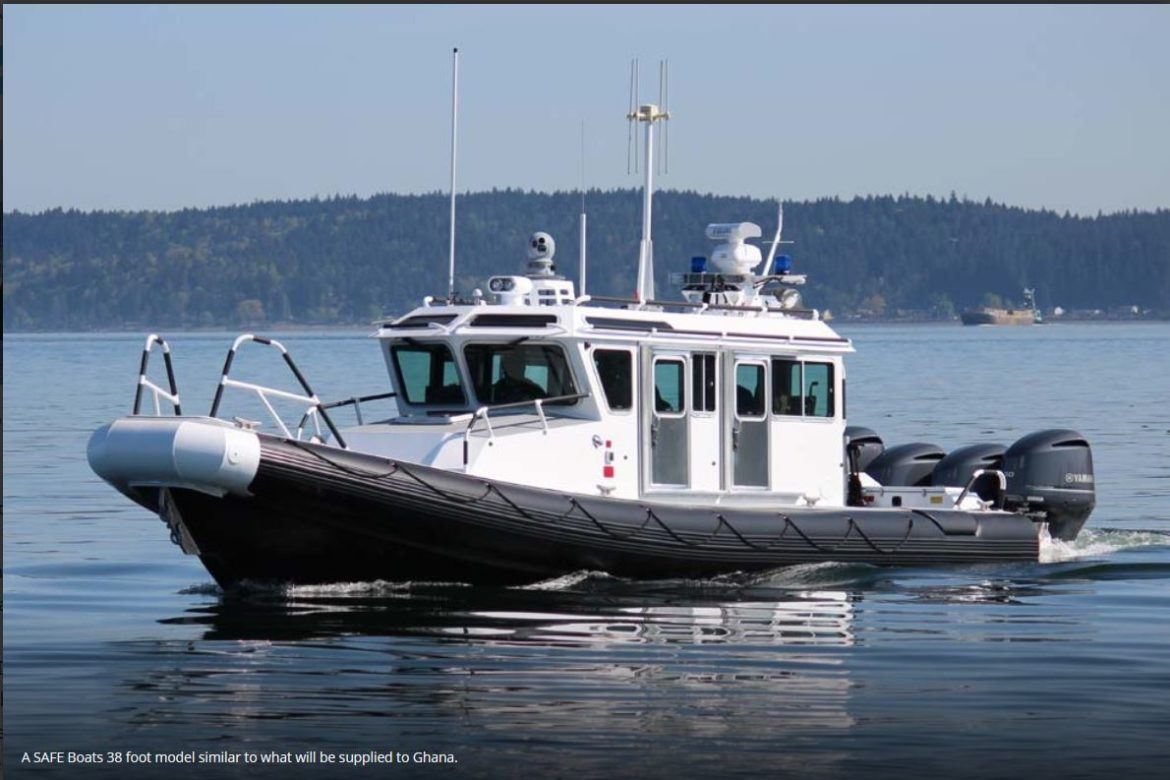 Ghana getting two Defender class boats from the United States