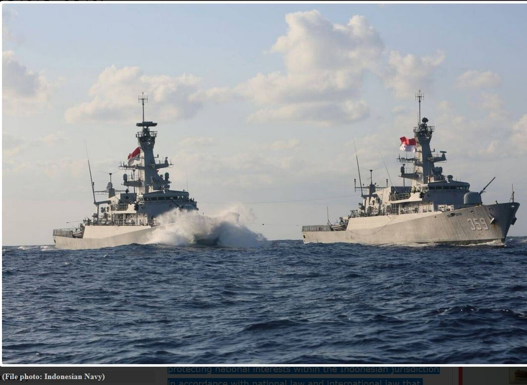Indonesia Boosts Naval Patrols after Foreign Ships Detected near Natuna