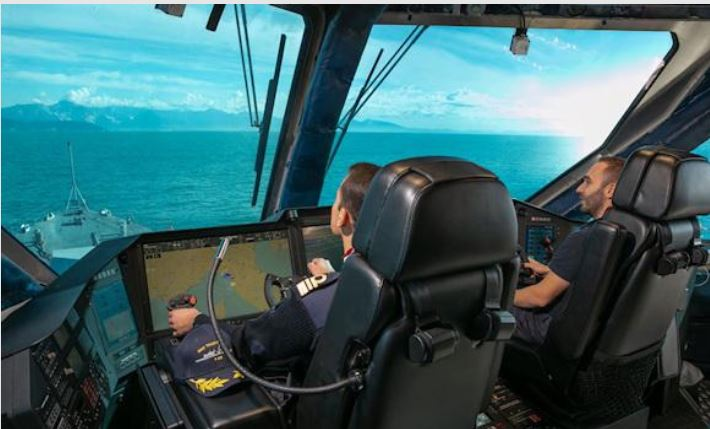 Naval Cockpit: the first qualified officers on Nave Thaon di Revel