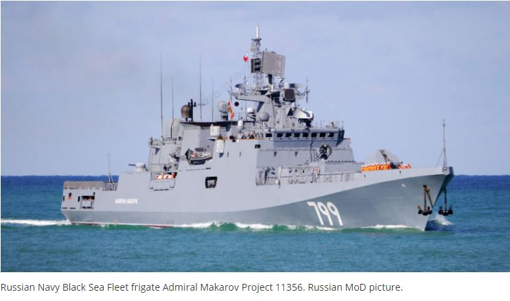 Ukraine To Supply Propulsion Systems For Indian Navy Frigates