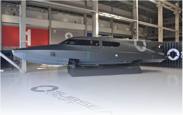 SubSea Craft's Victa diver delivery craft enters the water