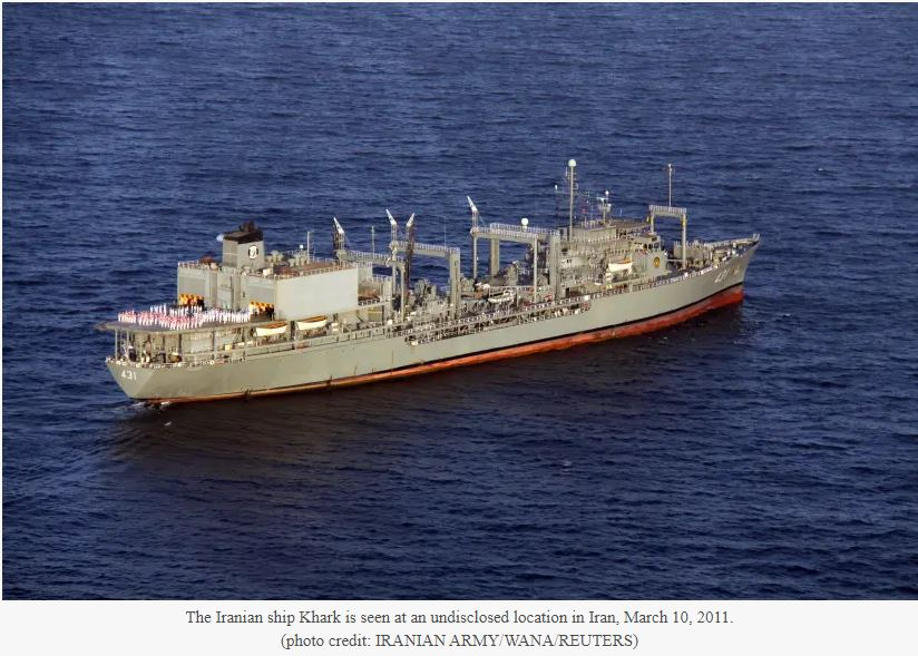 Iran says two navy ships returned from unprecedented global voyage
