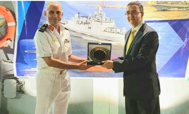 Indian Navy Ship Tabar visits Egypt as part of goodwill tour
