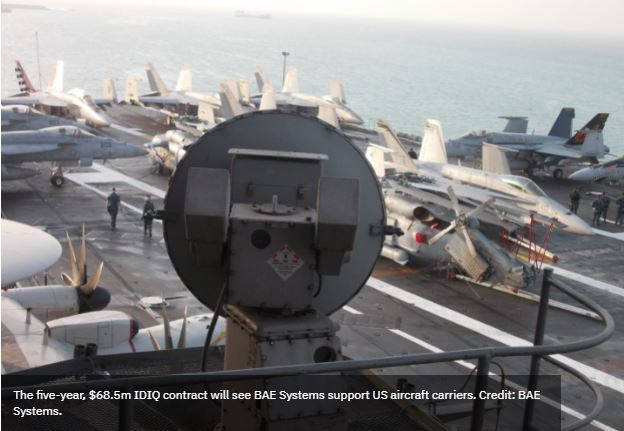 BAE Systems to provide carrier landing systems sustainment to US Navy