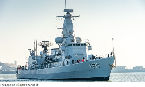 Belgian warship excluded from NATO exercise because crew are under-trained