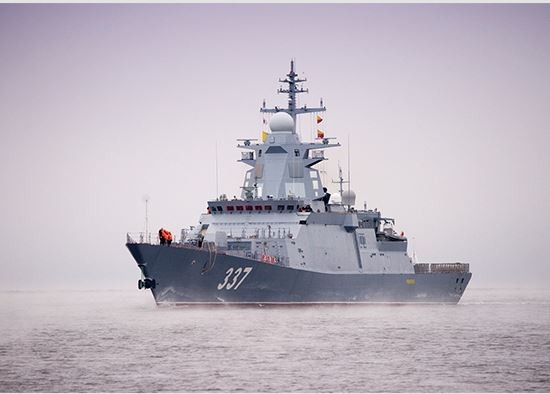 Corvette Gremyashchiy and submarines entered the area of responsibility of the Pacific Fleet south of Sri Lanka