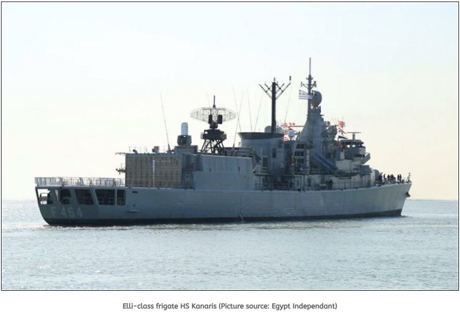 Egypt Naval Forces hold naval drills with US, Greece and Spain